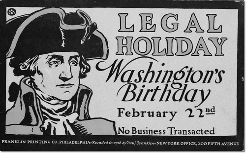 Washington Birthday Wishes To Friends Image