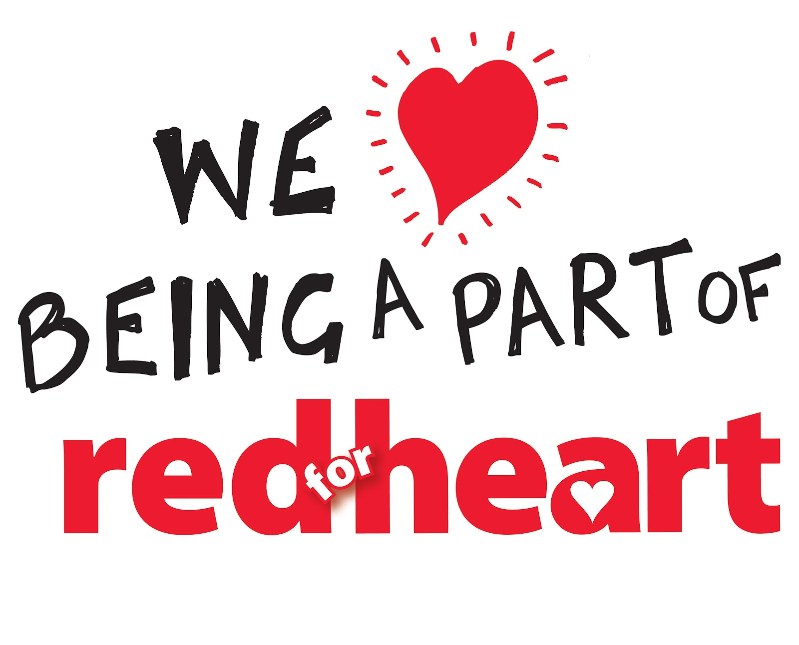 We Being A Part Red For Heart National Wear Red Day Images