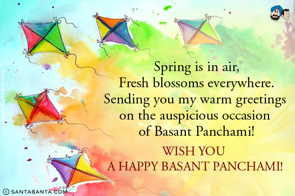Wish You A Happy Basant Panchami Wishes Quotes Images