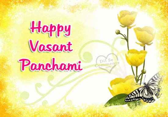 Wish You Happy Basant Panchami Greetings Images