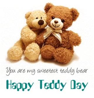 Wish You Happy Teddy Day Wishes Card Image