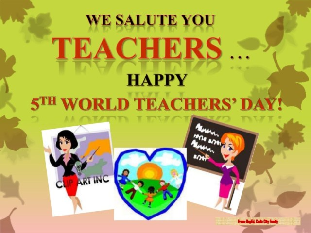 Wish You Happy World Teacher's Day Image