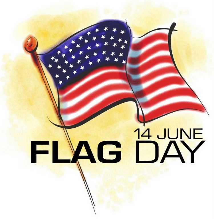 Wishing You A Very Happy Flag Day Wishes Image