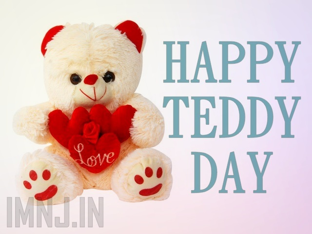 With Love Happy Teddy Day Wishes Image