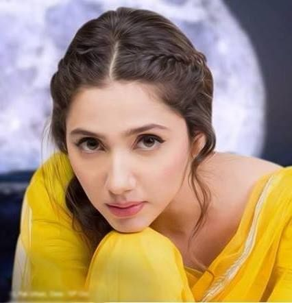 cute pic of mahira khan in yellow suit Mahira Khan Wallpaper