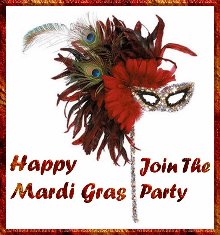 12 Mardi Gras Mask Image