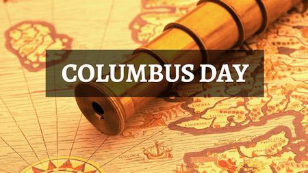 19 Columbus Day