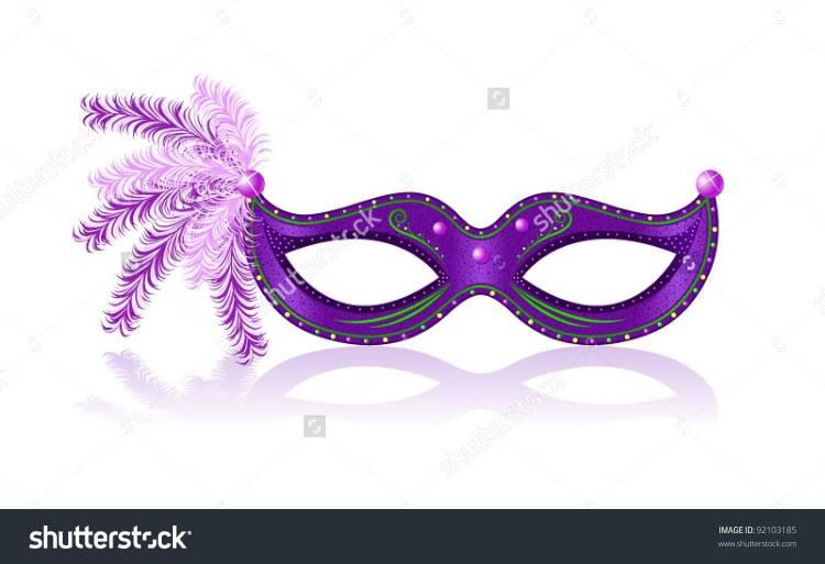 25 Mardi Gras Mask Image