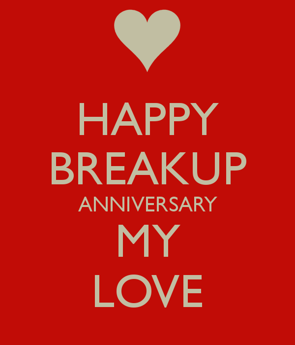 40 Happy Break Up Day Image