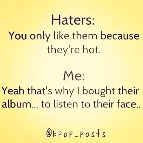 5Sos Quotes haters you only like them because they're not me yeah that's
