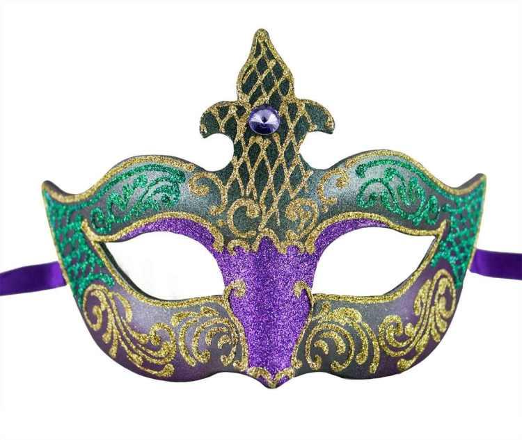 6 Mardi Gras Mask Image