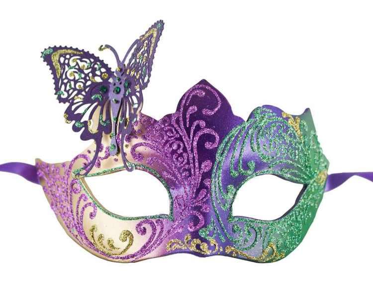 8 Mardi Gras Mask Image