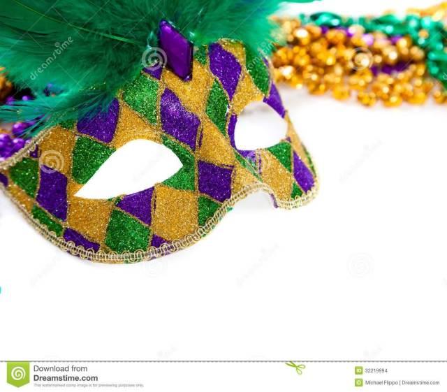 9 Mardi Gras Mask Image