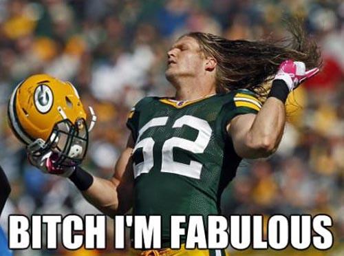 American Football Meme Bitch I'm fabulous