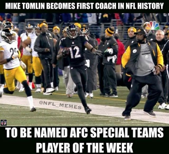 American Football Memes mike to mlin becomes first coach in nfl history