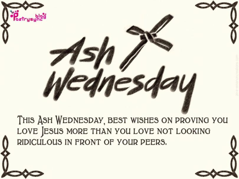 Ash Wednesday Best Wishes