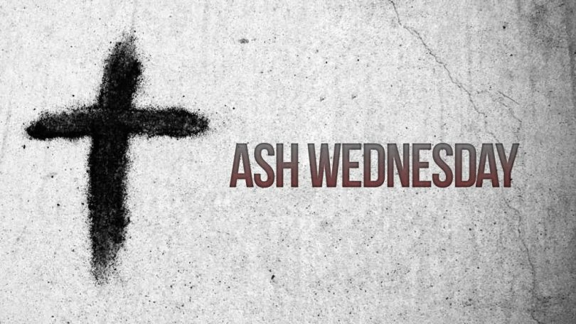 Ash Wednesday Cross Sign
