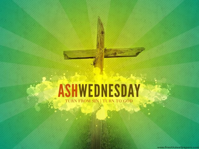 Ash Wednesday Cross Wallpaper