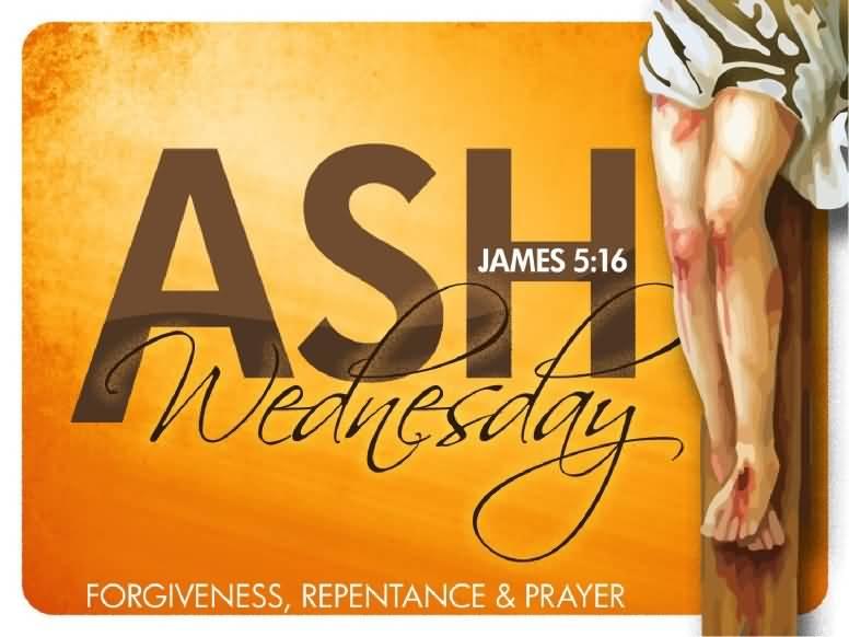 Ash Wednesday Message