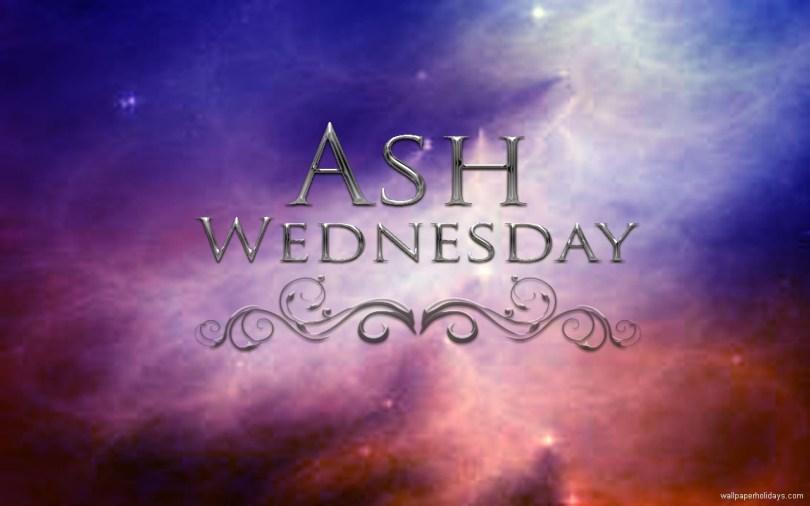 Ash Wednesday Wishes Wallpaper