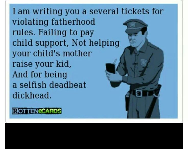 Baby Daddy Quotes i am writing you a several tickets for violating fatherhood rules
