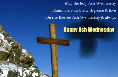Blessed Ash Wednesday Message