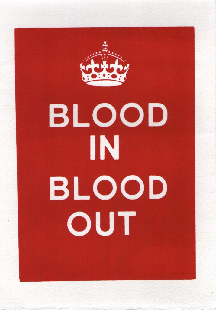 Blood Gang Quotes blood in blood out