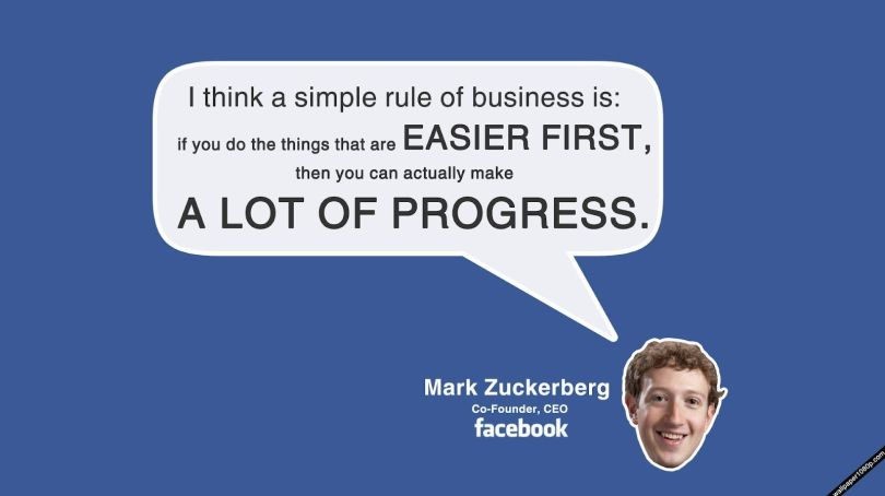 Business Quotes i think a simple rule of business is if you do the things that are easier first