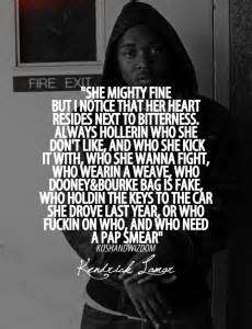 Chief Keef Quotes she mighty fine but notice that her heart resides next to bitterness always