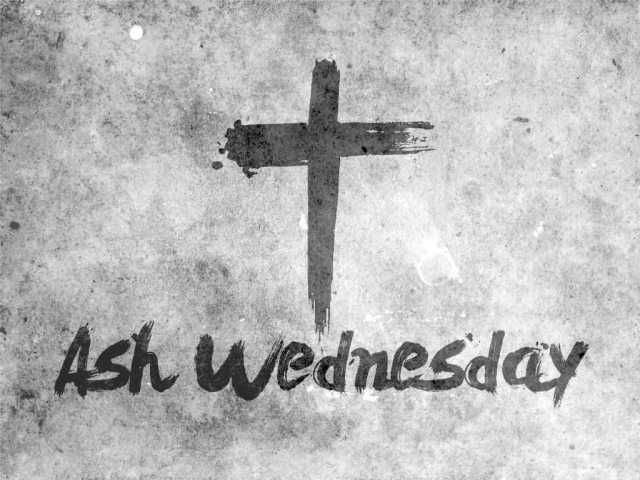 Cross Ash Wednesday Wishes Image