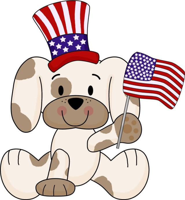 Cute Puppies Wishes Happy President's Day Image