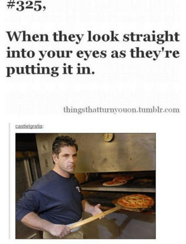 Dank meme when they look straight into your eyes as they