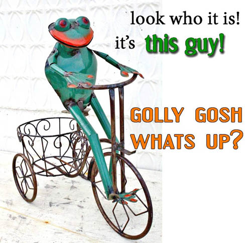 Dat Boi Meme Look Who It Is! It's This Guy! Golly Gosh