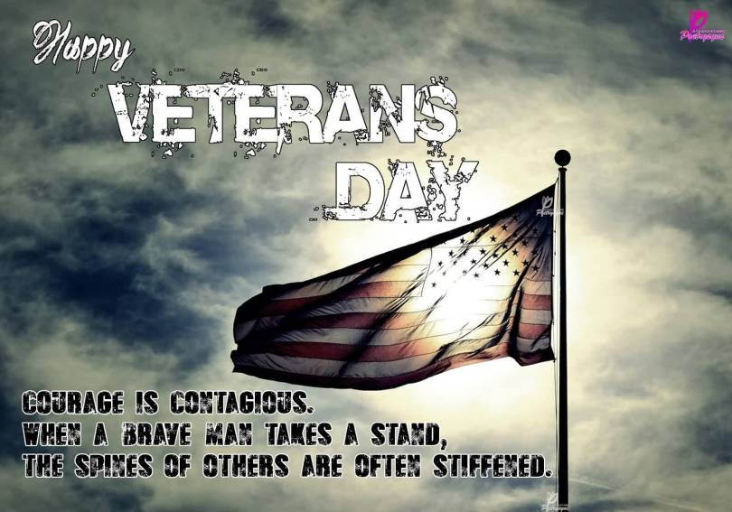 Day Quotes happy veterans day courage is
