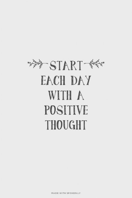 Day Quotes start each day with a positive thought
