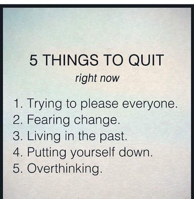Depression Recovery Quotes 5 things to quit right now
