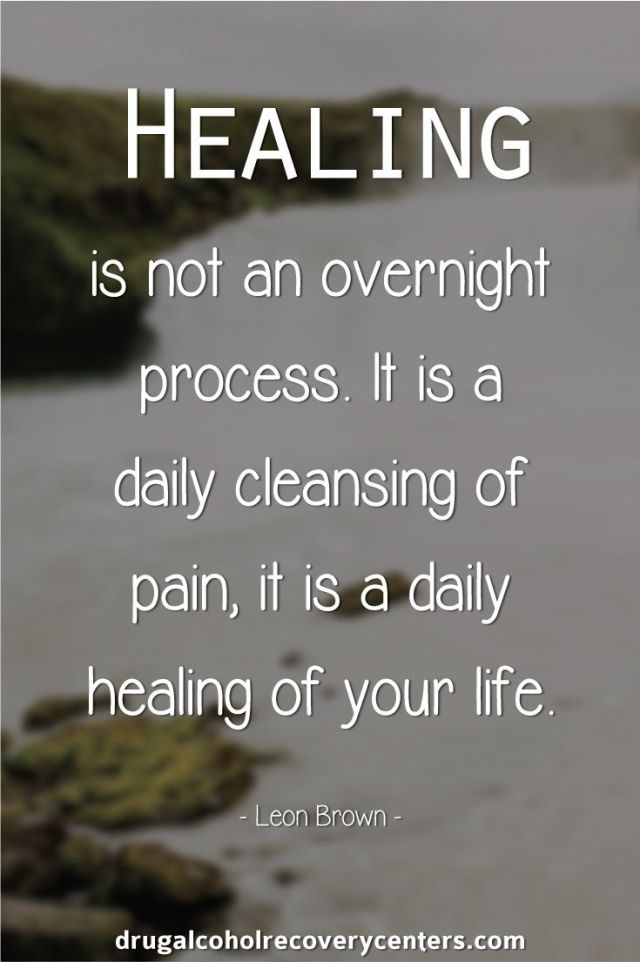 Depression Recovery Quotes healing is not an overnight process