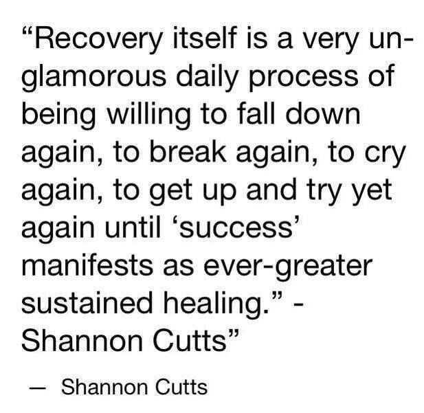 Depression Recovery Quotes recovery itself is a vey