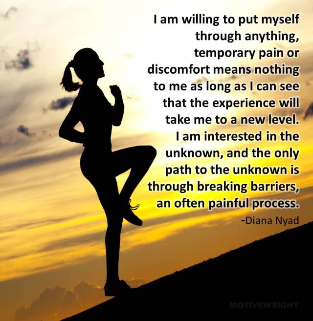 Determination Quotes i am willing to put my self through anything temporary