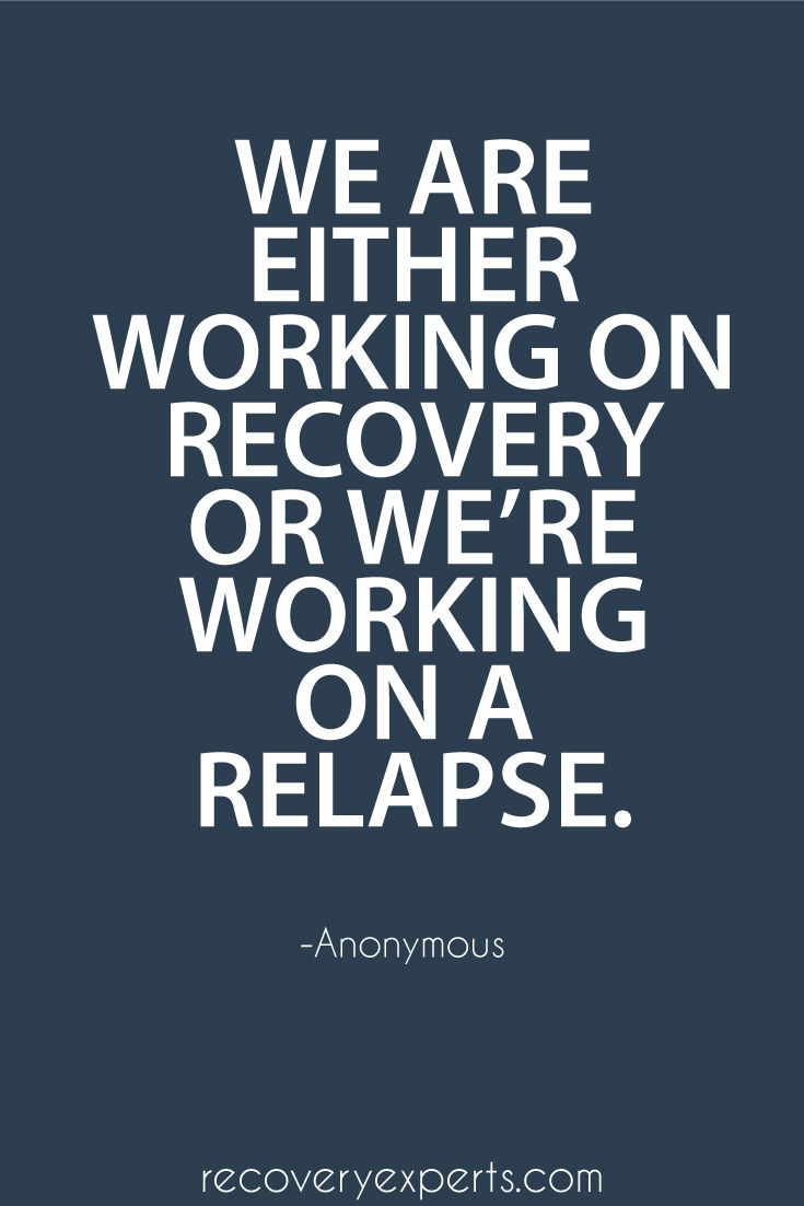 Drug Quotes Drug Recovery Quotes We Are Either Working On Recovery  Picsmine