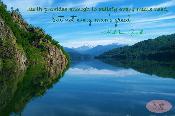 Earth Day Quotes earth provides enough to satisfy every