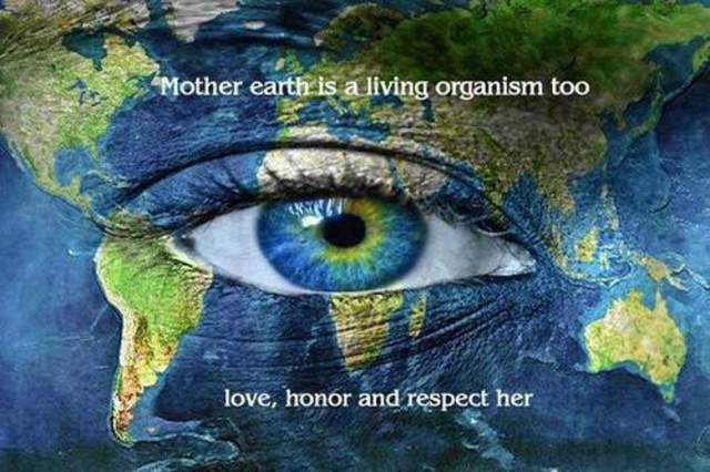 Earth Day Quotes mother earth is a living organism too love honor