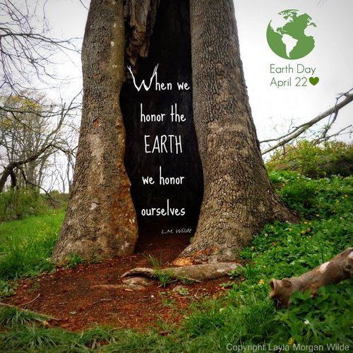 Earth Day Quotes when we honor the earth we honor ourselves