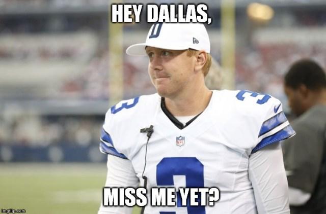 Football Memes hey dallas miss me yet