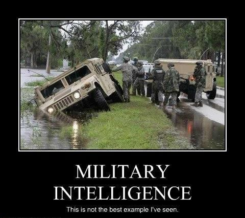 Funny Army Image military intelligence