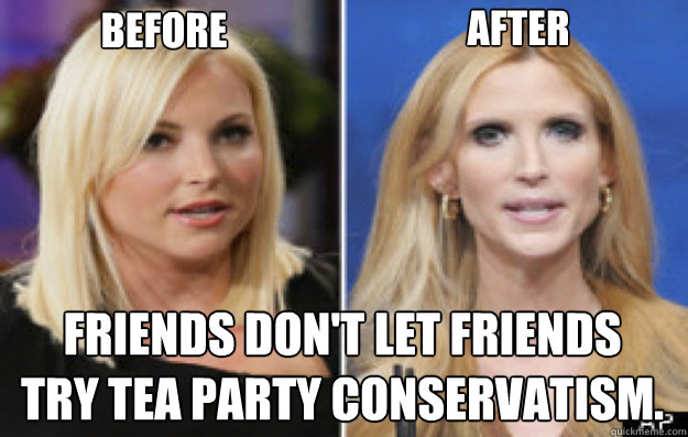 Funny Party Meme Before after friends don't let friends try tea