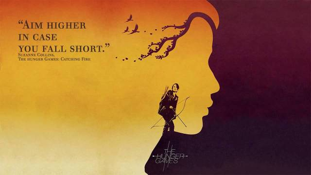 Games Quotes aim higher in case you fall short
