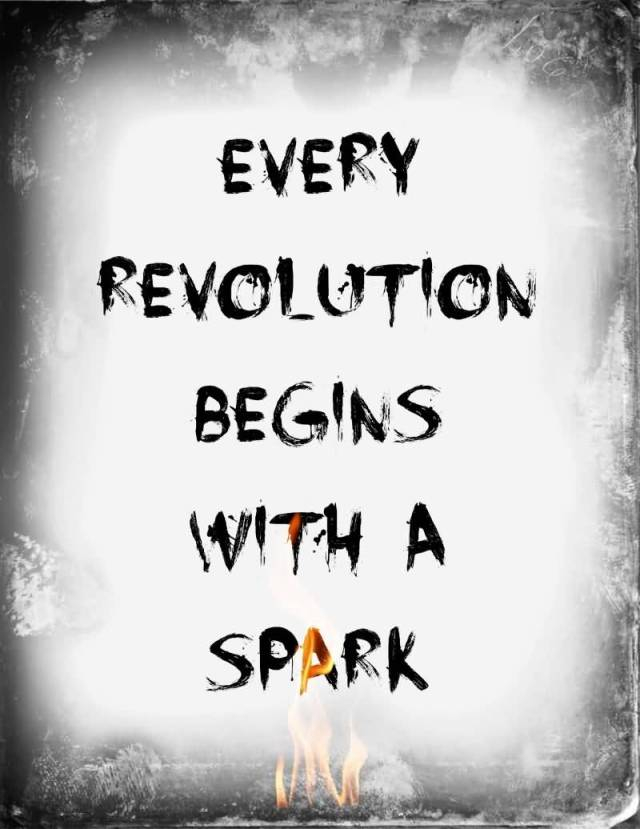 Games Quotes every revolution begins with a spark