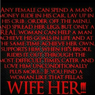 Ghetto Quotes any female can spend a man's money ride