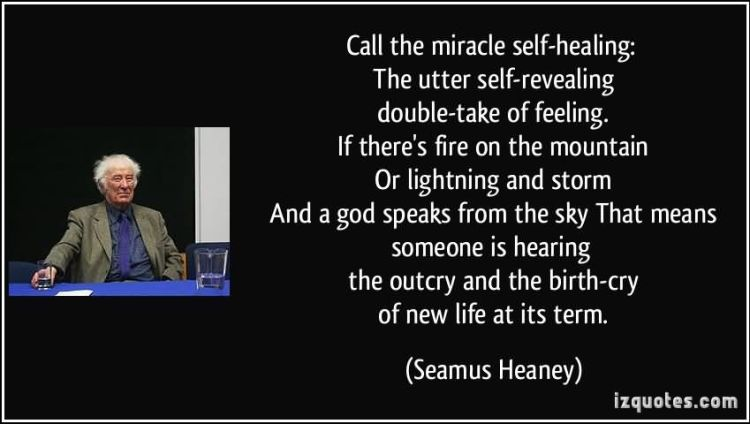 Healing Sayings call the miracle self healing